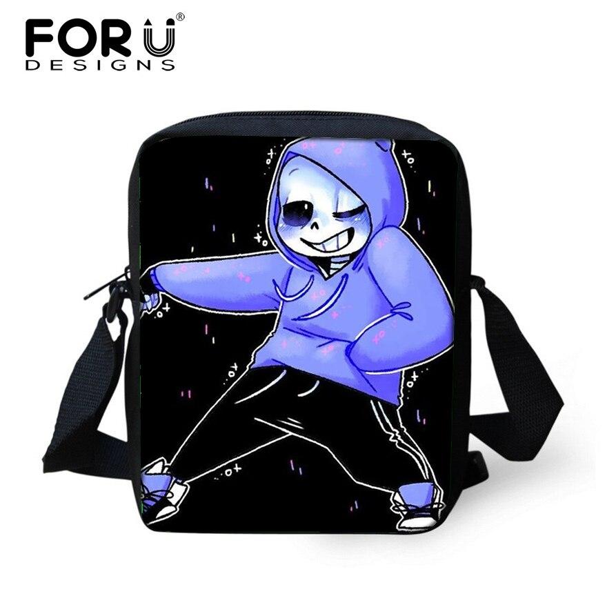 FORUDESIGNS Small Kids Mini Schoolbag,Cartoon Undertale School Bags for Boys Girls Children Kindergarte Kawaii Book Shoulder Bag