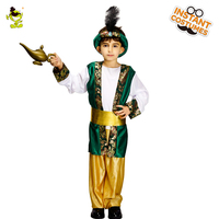 Child's Arabian Costume Boy's Aladdin Prince For Kids Carnival Party Halloween Role Play Party Fancy Suit