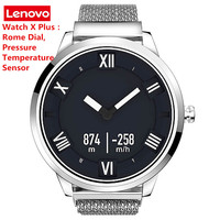 Lenovo Watch X plus Smartwatch Bluetooth 80 Meters Waterproof Heart Rate Sleep Monitor Swimming Smart Watch Men 45 Days Standby