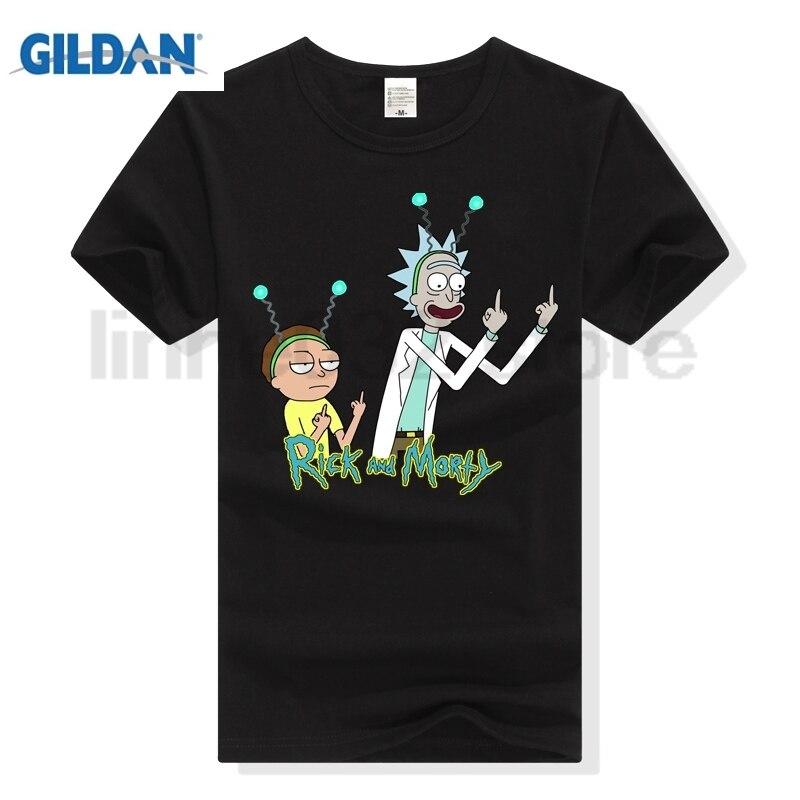 9a491bd6e796c2 Goede Kopen GILDAN HOWL VERHEVEN Rick En Morty Deppen Augurk T shirt ...