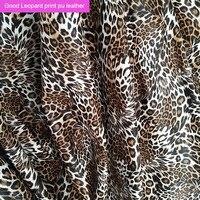 Хорошая сексуальная искусственная ткань из искусственной кожи, леопардовая расцветка, искусственная ткань для сумки, синтетическая искусс...
