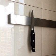 Cocina Montada En La Pared Cuchillo Magnética Rack Strip Rack Titular Tijeras de Acero Inoxidable Cuchillo de Metal Estante Práctico Hogar Ahorro de Espacio