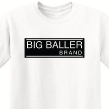 цена на BBB - MENS WHITE T-SHIRT (BLACK LOGO) LOS ANGELES SHOWTIME LAKE SHOW PURPLE&GOLD Harajuku Tops Fashion Classic Unique t-Shirt