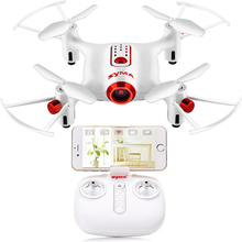 купить SYMA X20W RC Drone With Camera Wifi FPV Quadcopter Mini Dron Remote Control RC Helicopter 4CH 2.4G Drones Toys For Children Gift по цене 2600.96 рублей