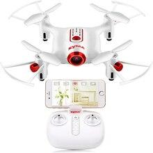 SYMA X20W RC Drone avec caméra Wifi FPV quadrirotor Mini Dron télécommande hélicoptère RC 4CH 2.4G Drones jouets pour enfants cadeau