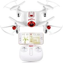 SYMA X20W Zangão RC Com Câmera Wifi FPV Quadcopter Mini Dron Controle remoto RC Helicóptero 4CH 2.4G Aviões de controle remoto Brinquedos Para Crianças Presente