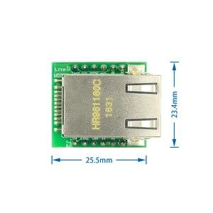 Image 2 - 5PCS/LOT USR ES1 W5500 Chip New SPI to LAN/ Ethernet Converter TCP/IP Mod