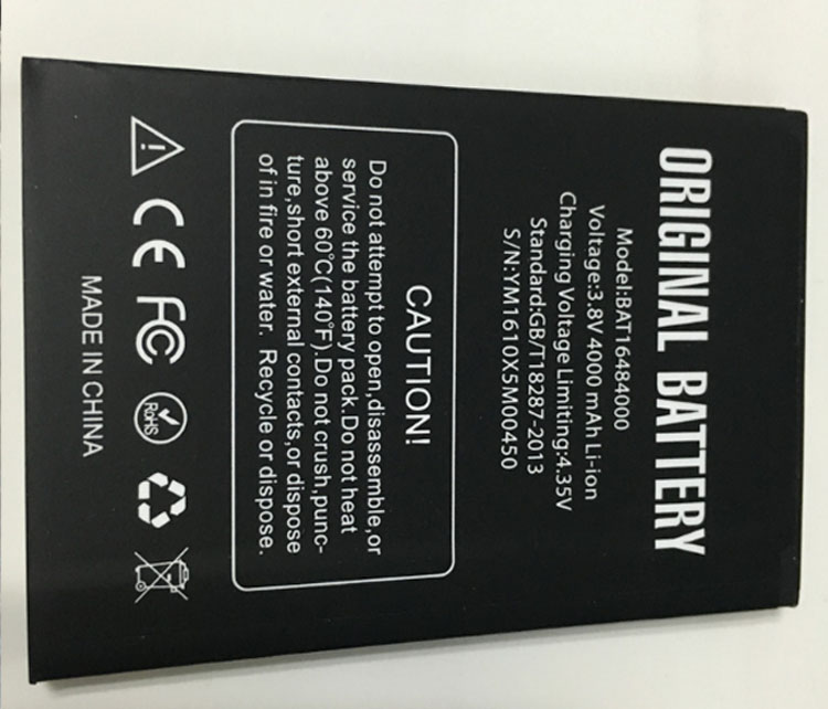 Replacement For DOOGEE X5 MAX Battery Bateria Accumulator AKKU for DOOGEE X5 MAX Pro 4000mAh