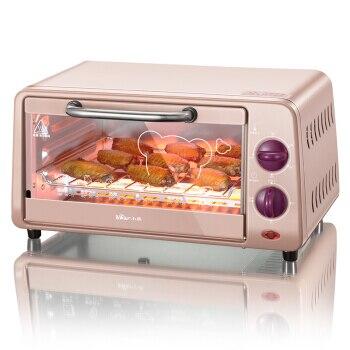 אחת חשמלי תנור רב תכליתי בית מיני אפיית תנור 10 ליטר עוגת יצרנית נירוסטה הסעת תנור לילדים DIY|תנורים|מכשירי חשמל ביתיים -