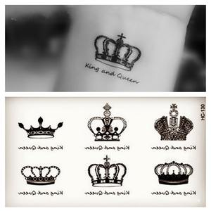 Top 10 Largest Crown Temporary Tattoo List