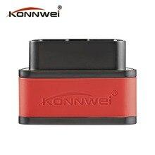 Konnwei KW903 Detector Do Scanner Ferramenta de Diagnóstico Do Carro ELM327 Bluetooth ODB2 OBDII Auto Scanner Code Reader para Android para IOS Hot