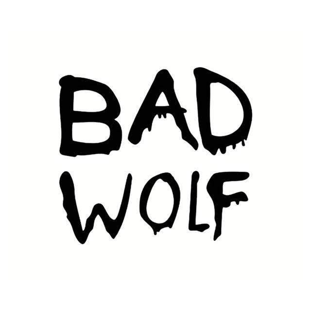 Hotmeini 13cm11cm bad wolf window funny vinyl decal car stickers jdm bumper laptop wall