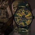 Dos homens Casuais relógios de Pulso de Quartzo SINOBI Mens Esporte Militar Soldado Relógios Top Marca de Luxo À Prova D' Água Relogio masculino Montre