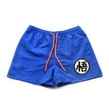 Dragon ball мужские повседневные шорты летние брюки с принтом мужские пляжные шорты Плавки мужские летние модные Бермуды Шорты