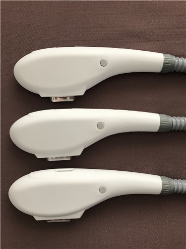 Top quality crystal and lamp IPL handle for IPL SHR beauty equipment with wholesale price ipl shr e light handle for sale hr handle