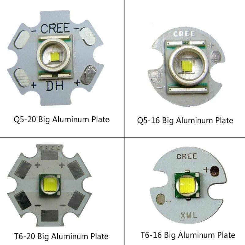 Einzelhandel 1 STÜCK Q5 / T6 / L2 Taschenlampe Scheinwerfer Licht Lampe Weiß / Gelb / Blau Licht (Hinweis: Hier Verkaufen wir Nur Led-lampe)