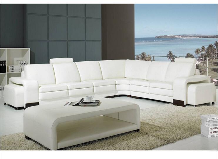 Купить с кэшбэком modern style  living room Genuine leather sofa a1284