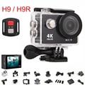 Original H9/H9R Action camera Ultra HD 4 K Wi-fi remoto 1080 P/60fps 2.0 LCD 170D lente Capacete Cam ir pro câmera à prova d' água