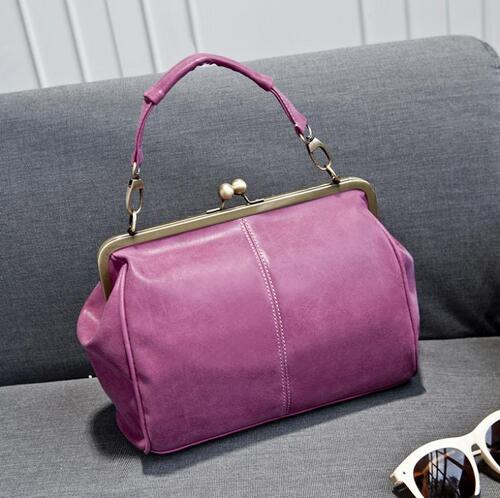 2016 British Vintage Hardware Matte Women Messenger Bags Women Handbag Crossbody Bag Classical Frosted Shoulder Bag