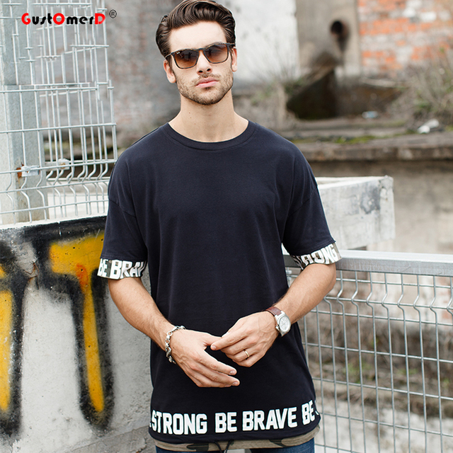 Gustomerd New Fashion Mens Brand Clothes Hip Hop Street Style Men