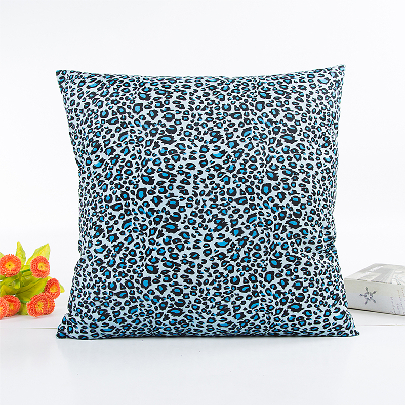 leopard cushion cover decorative pillow covers for sofa. Black Bedroom Furniture Sets. Home Design Ideas