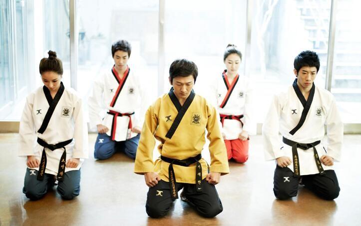 Professional WTF JC taekwondo Poomsae Dan dobok J Calicu Junior Dan Male Female JCALICU Senior Dan