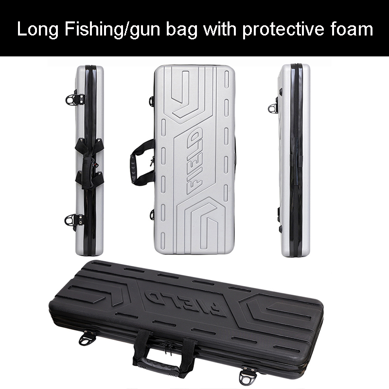 high quality Tool case long case outdoors luggage Fishing bag gun case box plastic toolbox safety box suitcase with foam lininghigh quality Tool case long case outdoors luggage Fishing bag gun case box plastic toolbox safety box suitcase with foam lining
