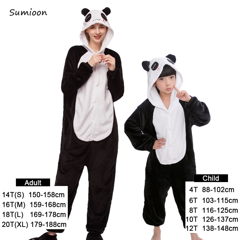 570808a8d2d4c Women Kigurumi Unicorn Pajamas Girls Boys Clothes Baby Costume Anime  Cosplay Totoro Licorne Animal Onesie Sleepwear Kids Pyjamas