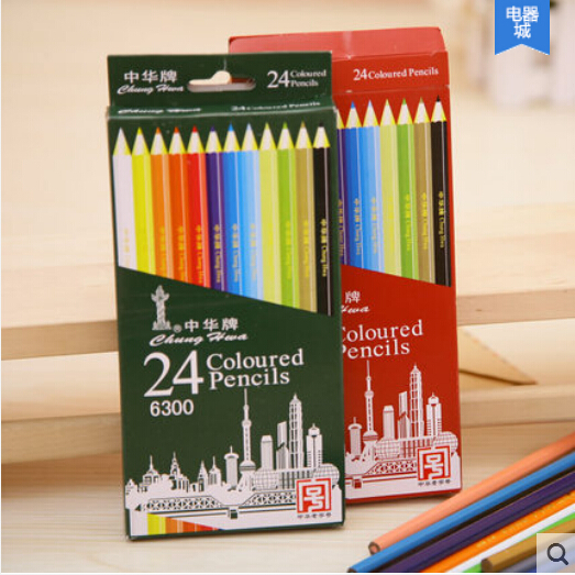 24pcsset Brand New Premium Color Pencil High Quality Eco Friendly - Premium-color-pencils