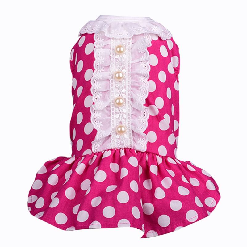 Loving Spring Summer Dress Cute Thin Suite For Small Dress For Dogs 576