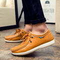 AliExpress Hot Sale Summer Men Designer Flats Male Fashion Genuine Leather Wedding Shoes Mens Casual Lace Up Shoes