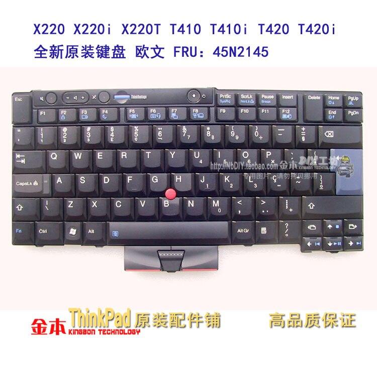 FOR LENOVO FOR Thinkpad X220 X220i X220T T410 T410i T420 T420i W510 laptop keyboard