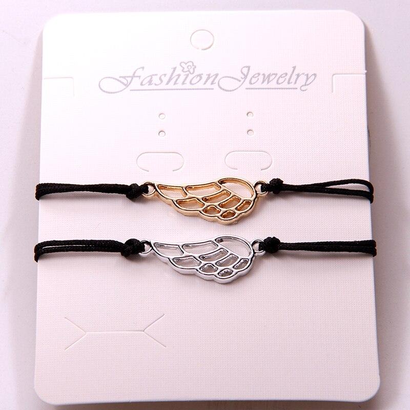 WING Bracelet Angel Bracelet Wings Best Friend Wings Wish Bracelet Silver Bracelet Hemp Bracelet Memory Jewelry Tattoo Jewelry