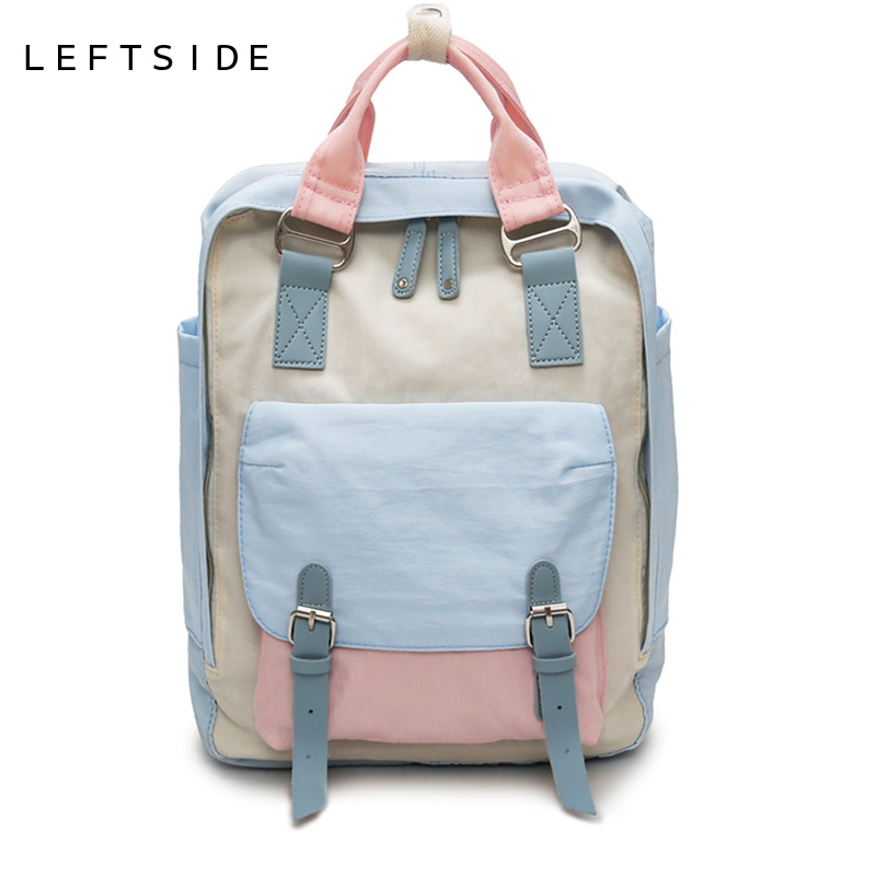 LEFTSIDE Waterproof Nylon Large-capacity Backpack For Women 2018 New Rucksack School Backpacks For Girls Travel Bag Back PackLEFTSIDE Waterproof Nylon Large-capacity Backpack For Women 2018 New Rucksack School Backpacks For Girls Travel Bag Back Pack