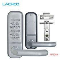 LACHCO механический дверной замок s Keyless цифровой машинный код клавиатуры пароль входной дверной замок L17001BS