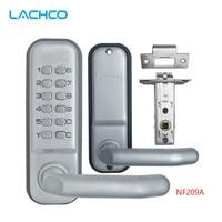 LACHCO mechanical door locks Keyless Digital Machinery Code Keypad Password Entry Door lock L17001BS