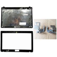 Laptop Cover Voor Asus K52 A52 X52 K52f K52J K52JK A52JR X52JV A52J 13GNXZ1AM044 1 Lcd Back Cover/Lcd Front bezel/Scharnieren