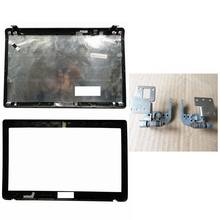Laptop cover For Asus K52 A52 X52 K52f K52J K52JK A52JR X52JV A52J 13GNXZ1AM044-1 LCD Back Cover/LCD front Bezel/Hinges(China)