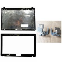 QH Laptop kapak için Asus K52 A52 X52 K52f K52J K52JK A52JR X52JV A52J 13GNXZ1AM044 1 LCD arka kapak/LCD ön çerçeve/menteşeler