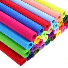 Новинка 1 мм цвета 40x50 см полиэфирная Нетканая войлочная ткань для детей DIY Ручная работа швейная Сумка Подушка войлочная ткань diy ремесло j2