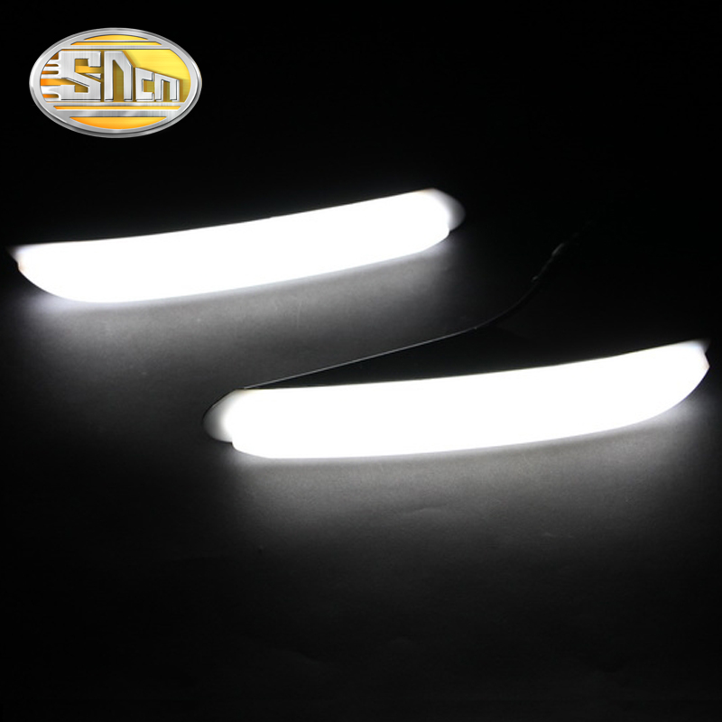 SNCN LED Daytime Running Light For Peugeot 408 2010 2011 2012 2013,Car Accessories Waterproof ABS 12V DRL Fog Lamp Decoration car led drl daytime running light for accent 2010 2013 wireless control