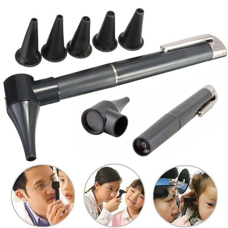 Профессиональный Otoscope офтальмоскоп, диагностический прямой уход за ушами, отоскоп ушной эндоскоп, фонарик, Уход за глазами, защитные инстру...