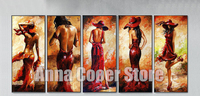 New Diamond Embroidery 5D Diy Diamond Painting Cool Sexy Woman In Red Cross Stitch Mosaic Square