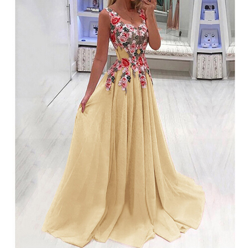 Buy bridesmaid dress with applique and get free shipping on AliExpress.com b9c0397b2706