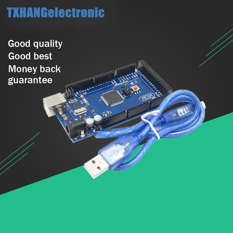 Mega 2560 ATMEGA2560-16AU Conseil (compatible) + Câble USB pour arduino uno Mega