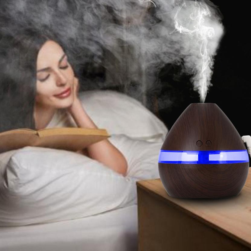Air Humidifier Essential Oil Diffuser Aroma Lamp Electric Aroma Diffuser Mist Maker For Office Home #TH