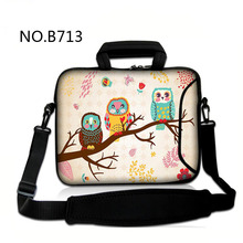 Owls Laptop computer Messenger Bag Many Designs 7 10 12 13 14 15 17inch Pocket book Laptop computer Sleeve Bag Portatil Zipper Baggage Cowl Pouch Instances