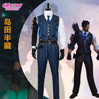 Hot Anime! Game OW Hanzo Shimada Cosplay Costumes Mr. Shimada Skin Uniform Suit For Role Play Clothing S XXL Free Shipping