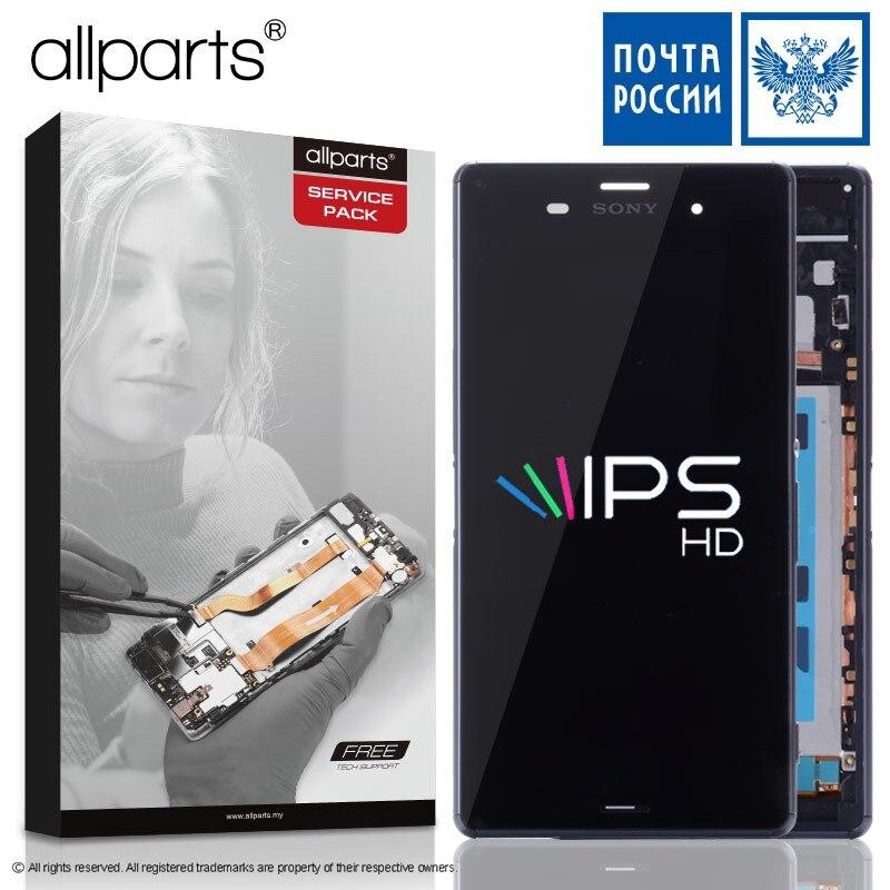 ORIGINALE A CRISTALLI LIQUIDI Per SONY Xperia Z3 Compatto Display Touch Screen con Telaio Z3 Mini D5803 D5833 Per SONY Xperia Z3 compatto Display