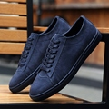 ONLYWONG 2017 New Spring & autumn Men shoes Lace-up coy flat shoes Nubuck Leather High Quality mens casual shoes